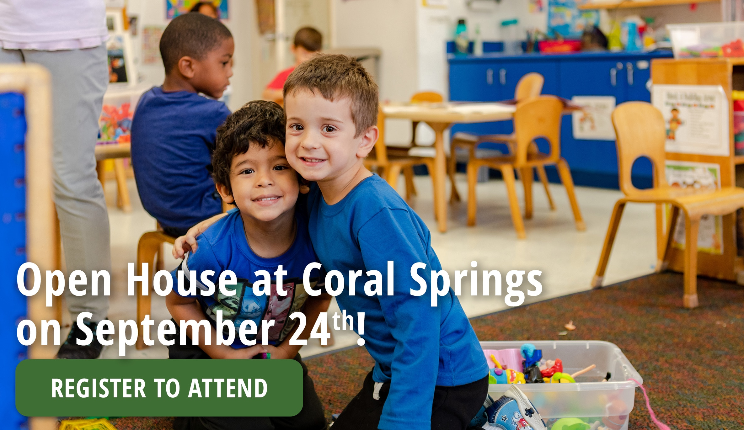 4 Preschools Near Coral Springs, Davie, Tallahassee & Weston